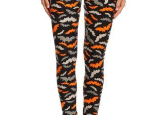 3138123bd0e253 Halloween Bat Plus Size Leggings – 3X-5X